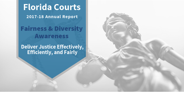 Graphic Depicting Annual Report Fairness & Diversity