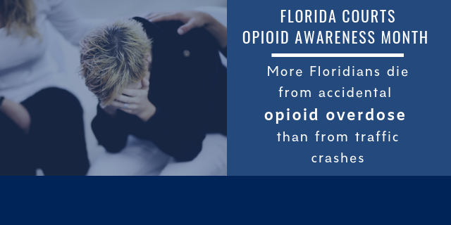 Opioid awareness month graphic