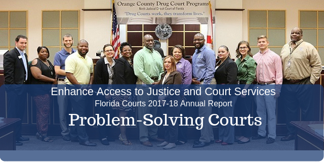 Graphic for Problem-Solving Courts
